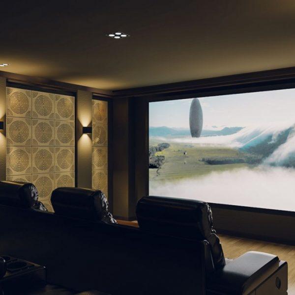 Circulo - akustický panel pro domácí kino