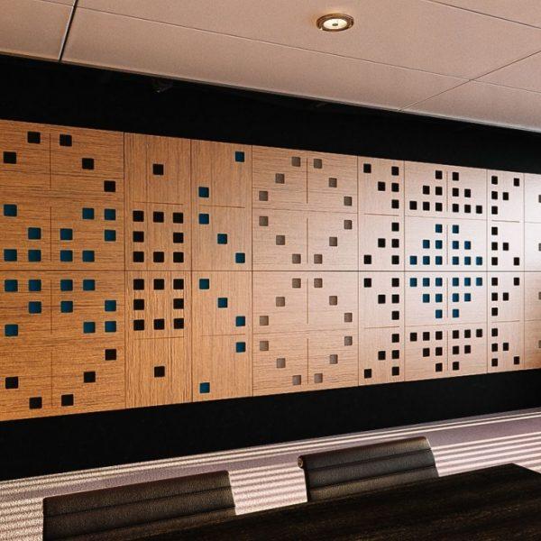 Domino akustický panel na stěnu