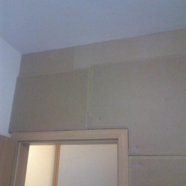 Zvukové odhlučnění stěny