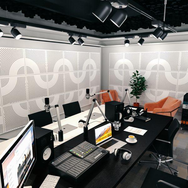 WavO akustický panel na stěnu