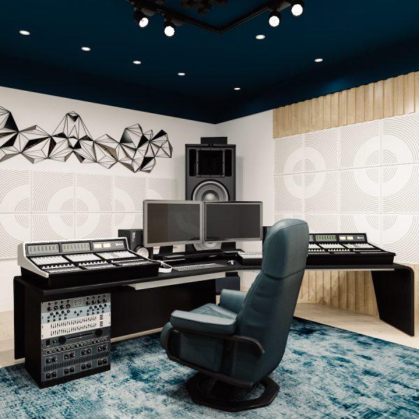 WavO v hudebním studiu