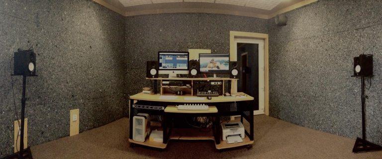 ZINO Acoustic v nahrávacím studiu