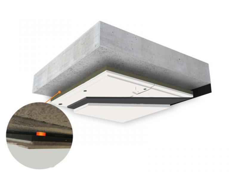 Zvuková izolace stropu
