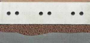 suchý podsyp na vyrovnání podlahy