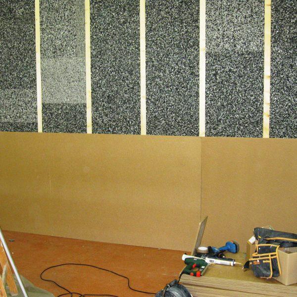 Zvuková izolace stěny