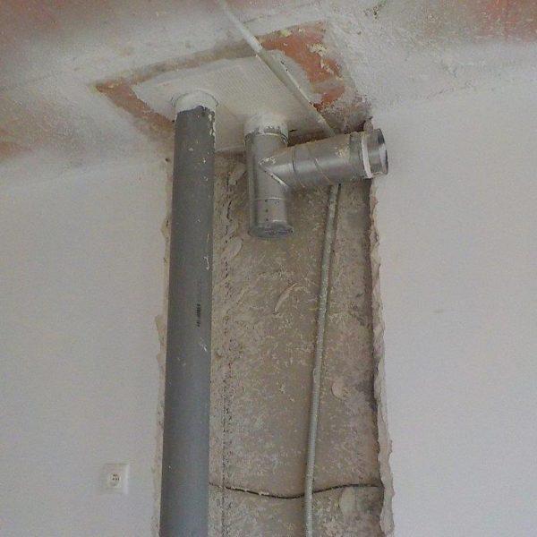 Zvuková izolace trubek, stoupaček, potrubí.