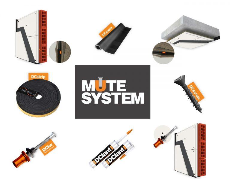MUTE systém - produkt a příslušenství