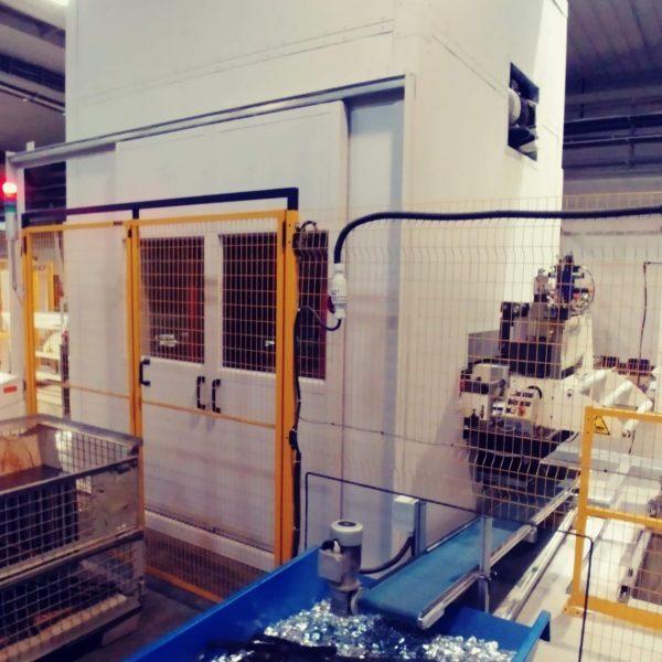 odhlučnění průmyslového stroje