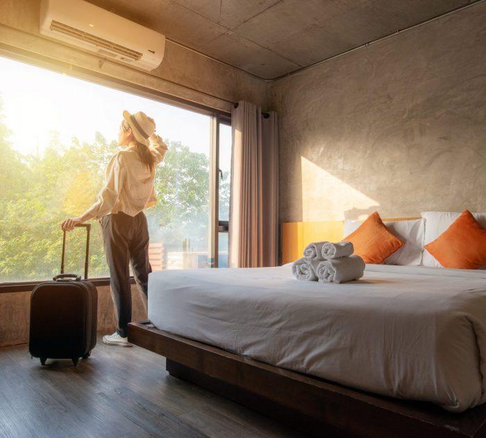 odhlučnění hotelu