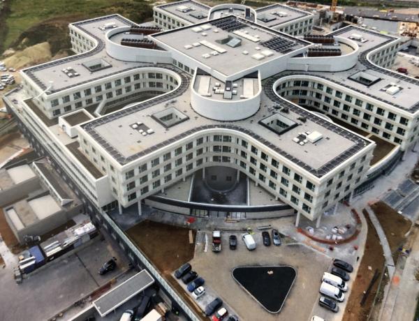 odhlučnění nemocnice